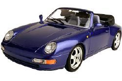 blue convertible sports car with the top down