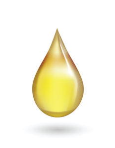 golden drop of oil
