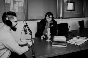 Joe and Kyle recording