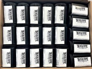 Many oil sample kits in box